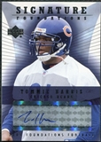 2004 Upper Deck Foundations Signature Foundations #SFTO Tommie Harris Autograph