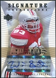 2004 Upper Deck Foundations Signature Foundations #SFWS Will Smith Autograph