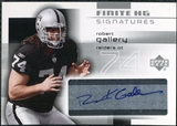 2004 Upper Deck Finite HG Signatures #FSGA Robert Gallery Autograph