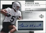 2004 Upper Deck Finite HG Signatures #FSJM Johnnie Morant Autograph