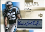 2004 Upper Deck Finite HG Signatures Radiance #FSKC Keary Colbert Autograph /25