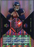 2004 Upper Deck Reflections Signature Threads LTD Patch #STPRG Rex Grossman Autograph /21