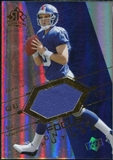 2004 Upper Deck Reflections Focus on the Future Jerseys Gold #FOEM Eli Manning