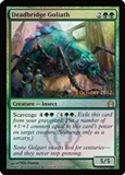 Magic the Gathering Return to Ravnica Single Deadbridge Goliath (Prerelease FOIL)