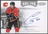 2011/12 Panini Contenders #3 Curtis Glencross NHL Ink Auto