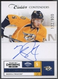 2011/12 Panini Contenders #230 Blake Geoffrion Rookie Auto #132/800