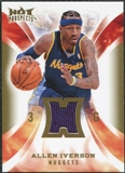 2008/09 Upper Deck Hot Prospects Hot Materials #HMAI Allen Iverson