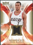 2008/09 Upper Deck Hot Prospects Hot Materials #HMBR Brandon Roy