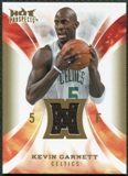 2008/09 Upper Deck Hot Prospects Hot Materials #HMKG Kevin Garnett