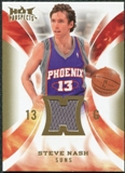 2008/09 Upper Deck Hot Prospects Hot Materials #HMSN Steve Nash