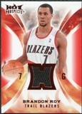 2008/09 Upper Deck Hot Prospects Hot Materials Red #HMBR Brandon Roy 15/25