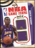 2008/09 Upper Deck Hot Prospects NBA Game Issue Jerseys #NBAAB Andrew Bynum /149
