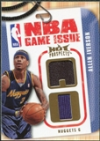 2008/09 Upper Deck Hot Prospects NBA Game Issue Jerseys #NBAAI Allen Iverson /149