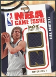 2008/09 Upper Deck Hot Prospects NBA Game Issue Jerseys #NBADN Dirk Nowitzki /149
