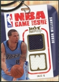 2008/09 Upper Deck Hot Prospects NBA Game Issue Jerseys #NBADW Deron Williams /149