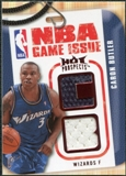 2008/09 Upper Deck Hot Prospects NBA Game Issue Jerseys Red #NBABU Caron Butler /25