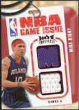 2008/09 Upper Deck Hot Prospects NBA Game Issue Jerseys Red #NBAMB Mike Bibby 08/25