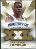 2008/09 Upper Deck Hot Prospects Property of Jerseys #POAJ Antawn Jamison /199