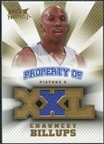 2008/09 Upper Deck Hot Prospects Property of Jerseys #POCB Chauncey Billups /199