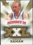 2008/09 Upper Deck Hot Prospects Property of Jerseys #POCK Chris Kaman /199