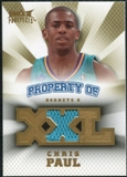 2008/09 Upper Deck Hot Prospects Property of Jerseys #POCP Chris Paul /199