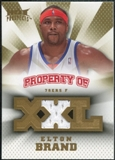 2008/09 Upper Deck Hot Prospects Property of Jerseys #POEB Elton Brand /199