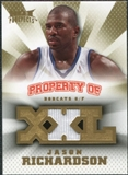 2008/09 Upper Deck Hot Prospects Property of Jerseys #POJR Jason Richardson /199