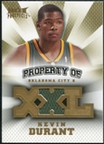 2008/09 Upper Deck Hot Prospects Property of Jerseys #POKD Kevin Durant /199