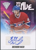 2011/12 Panini Titanium #42 Brendon Nash New Wave Auto