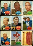 1960 Topps Football Near Complete Set (EX-MT)