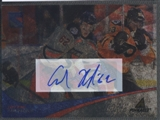 2011/12 Pinnacle #339 Carl Hagelin Ice Breakers Auto