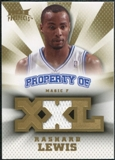 2008/09 Upper Deck Hot Prospects Property of Jerseys #PORL Rashard Lewis /199