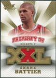 2008/09 Upper Deck Hot Prospects Property of Jerseys #POSB Shane Battier /199