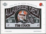 2003 UD Patch Collection All Upper Deck Patches #UD4 Tim Couch
