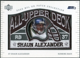 2003 UD Patch Collection All Upper Deck Patches #UD14 Shaun Alexander
