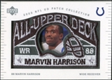 2003 UD Patch Collection All Upper Deck Patches #UD18 Marvin Harrison