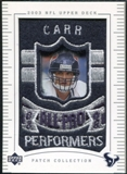 2003 Upper Deck UD Patch Collection #152 David Carr AP