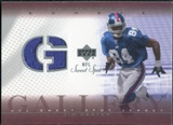 2002 Upper Deck Sweet Spot Rookie Gallery Jersey #RGTC Tim Carter
