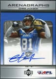2006 Upper Deck AFL Arenagraphs #CJ Chris Jackson Autograph