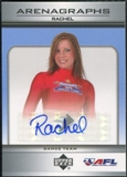 2006 Upper Deck AFL Arenagraphs #DRA Dancer: Rachel Autograph