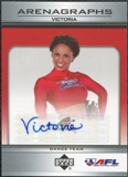 2006 Upper Deck AFL Arenagraphs #DVI Dancer: Victoria Autograph