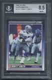 1990 Score Supplemental Football #101T Emmitt Smith Rookie BGS 8.5 (NM-MT+) *5668