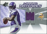 2006 Upper Deck SPx Rookie Winning Materials #WMRTJ Tarvaris Jackson