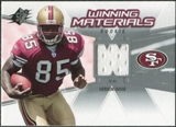 2006 Upper Deck SPx Rookie Winning Materials #WMRVD Vernon Davis