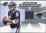 2006 Upper Deck SPx Rookie Winning Materials #WMRWH Charlie Whitehurst