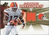 2006 Upper Deck SPx Winning Materials #WMVBE Braylon Edwards