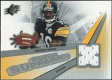 2006 Upper Deck SPx Rookie Swatch Supremacy #SWSH Santonio Holmes