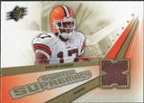 2006 Upper Deck SPx Swatch Supremacy #SWBE Braylon Edwards