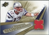 2006 Upper Deck SPx Swatch Supremacy #SWBT Tom Brady