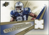 2006 Upper Deck SPx Swatch Supremacy #SWJJ Julius Jones